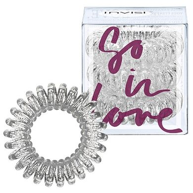 INVISIBOBBLE - Резинка-браслет для волос Invisibobble So-In-Love Sparkling Clear