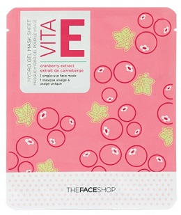 THE FACE SHOP - Маска для лица Hydro Vita Gel Mask Sheet Е