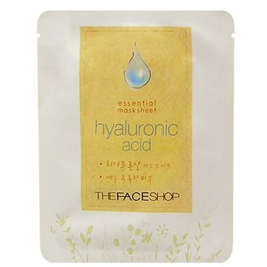 THE FACE SHOP - Маска для лица Essential Mask Sheet Hyaluronic Аcid - с гиалуроновой кислотой