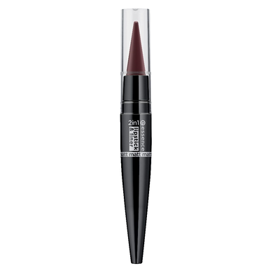 Губная помада и контур 2 in1 matt lipstick & liner- 05 more is more
